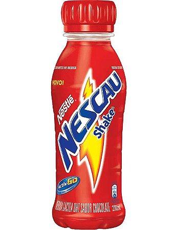Bebida láctea sabor chocolate nescau shake nestle 270ml