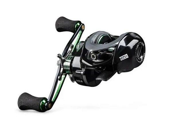 Carretilha Pesca Maruri Zeeo E-800 Drag: 6kg Rec: 8.1:1 ESQUERDA