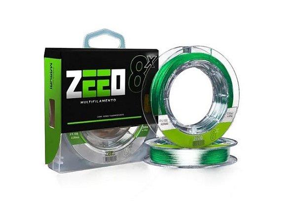 Linha Multifilamento Maruri Zeeo X8 0,40mm 150m Fluorescente