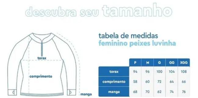 CAMISETA DE PESCA MAR NEGRO FEMININO TAMBAQUI P