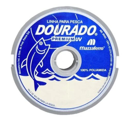 LINHA DOURADO PREMIUM 0.50LB 100M BRANCO