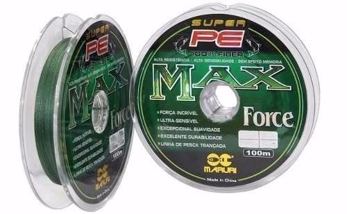 LINHA MULTIFILAMENTO MARURI PE MAX 100M 0,14MM
