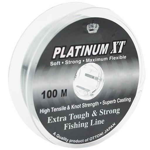 LINHA MONOFILAMENTO OTTONI PLATINUM XT 0,25MM 100 M