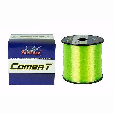 LINHA MONOFILAMENTO SUMAX COMBAT AMARELO 0,35MM CBL997-1/4 25LBS 970M