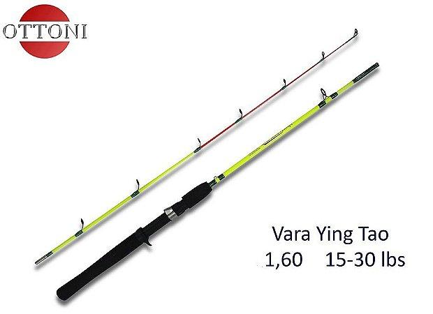 VARA 2 PARTES CARRETILHA OTTONI YING TAO SYT9160-2 1,60M 15-30LBS