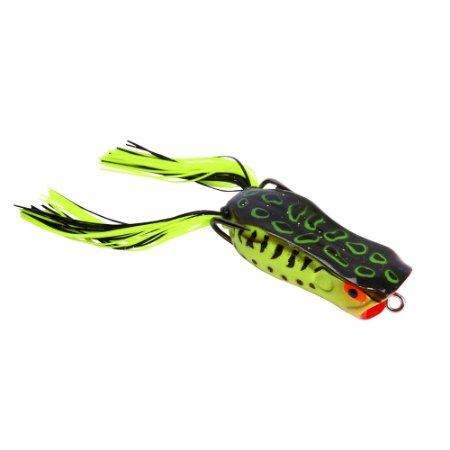 ISCA ARTIFICIAL MARINE SPORTS POPPER FROG 55 COR 184