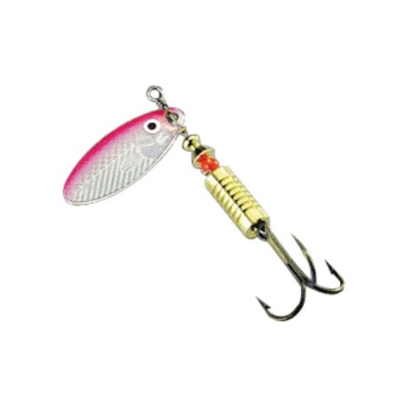 ISCA ARTIFICIAL MARINE SPORTS SPINNER 04G COR 26 ROSA PENDULO