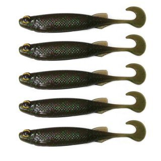 ISCA ARTIFICIAL SOFT MONSTER 3X E-SHAD CANDY PUMPKIN 5 UNID