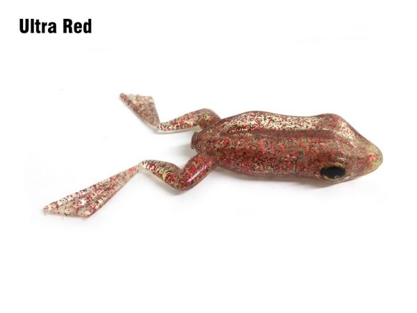 ISCA ARTIFICIAL SOFT MONSTER X-FROG ULTRA RED