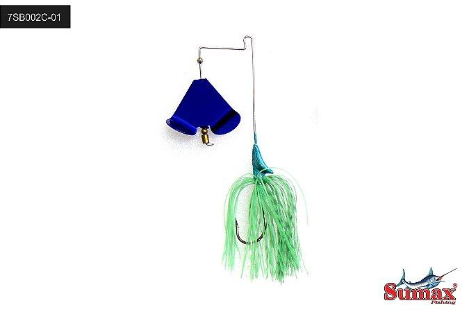 ISCA ARTIFICIAL SUMAX BUZZ BAIT BLUE PEC 7SB002C-01