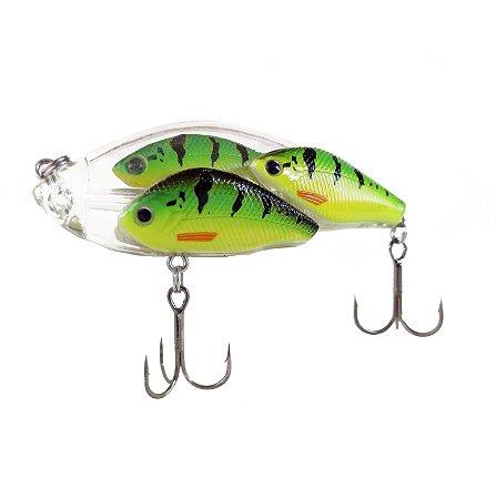 ISCA ARTIFICIAL SUN FISHING CARDUME TWICH BAIT COR 18