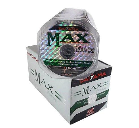 10 CARRETEIS LINHA MONO MAXFORCE DAYAMA 5.5 0,40MM 100M #CONSUMIDOR2020