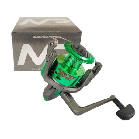 Molinete Albatroz MP60 6000 3 Rolamentos Verde