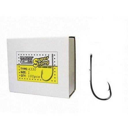 ANZOL MARINE SPORTS 4330 SUPER STRONG Nº 8/0 C/100