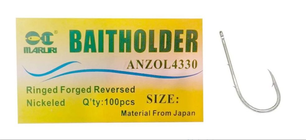 ANZOL CAIXA MARURI BAITHOLDER 1/0 C/100