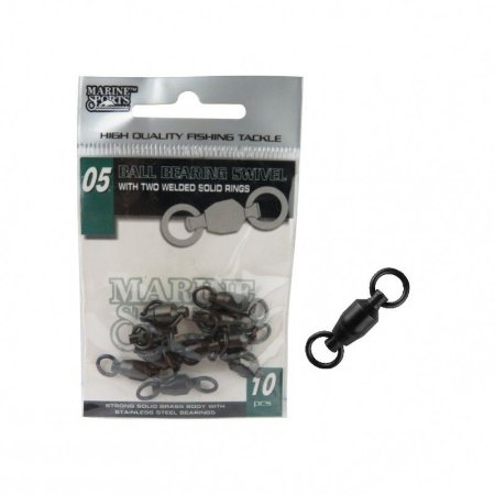GIRADOR MARINE SPORTS COM ROLAMENTO BLACK NICKEL Nº 5 CARTELA COM 10