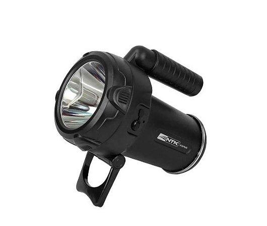 Lanterna Tocha Nautika Jasper Recarregável - Preto