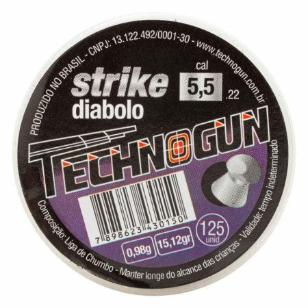 CHUMBINHO TECHNOGUN STRIKE DIABOLO 4,5 C/250 PCS