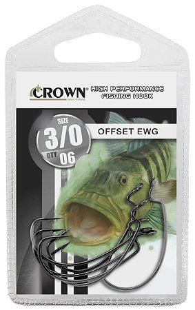 ANZOL CARTELA CROWN OFFSET EWG Nº 6/0 C/06