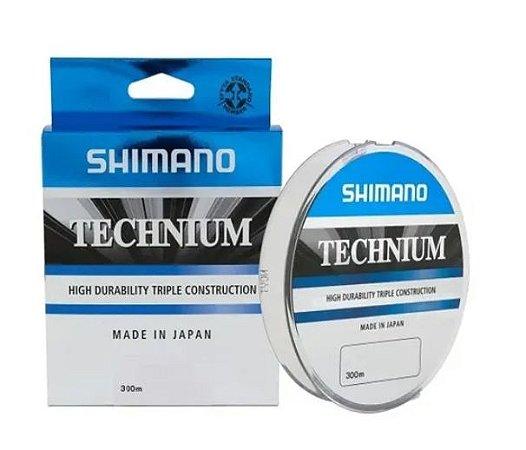 LINHA MONOFILAMENTO SHIMANO TECHNIUM 0.255MM X 200M