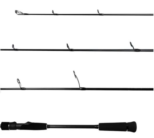 "VARA INTEIRA MOLINETE LUMIS SPEED JIGGING SPIN 6'6"" 1,92M 20-40LB"