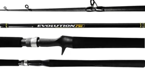 VARA 2 PARTES CARRETILHA MARINE SPORTS EVOLUTION EVG3-C561M 1,68 10-20 LBS