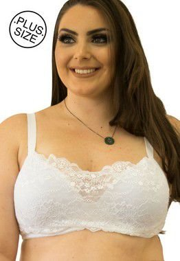 Sutiã Katina Renda Larga Plus Size - Qtal Lingerie