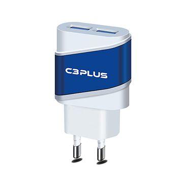 CARREGADOR C3TECH AC/USB UNIVERSAL 2A UC-20BWHX BRANCO
