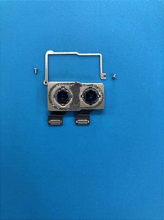 Câmera Traseira Iphone X Original Retirada de Aparelho