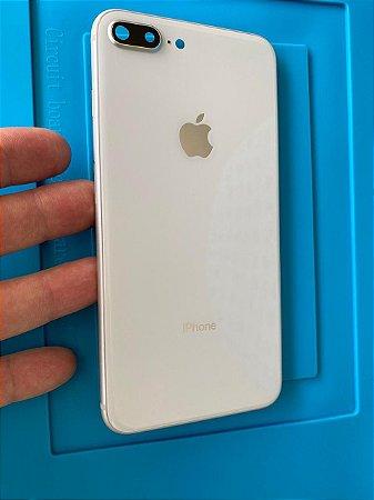 Carcaça Chassi Iphone 8 Plus Branca Original Apple