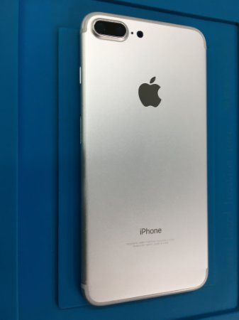Carcaça Chassi Iphone 7 Plus Prata Original Apple Marcas de uso