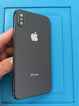 Carcaça Iphone X Preta Chassi Original Apple pequenas marcas