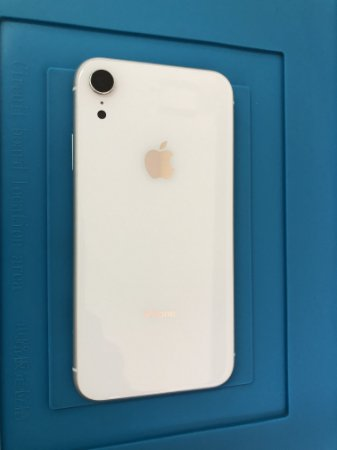 Carcaça Iphone XR Branca Original Apple impecável