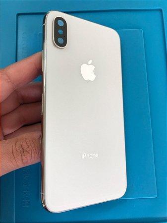 Carcaça Iphone XS branca Chassi original apple
