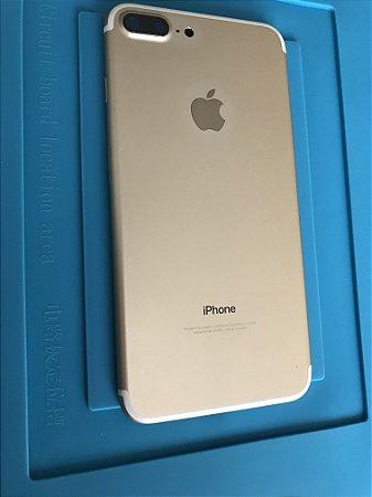 Carcaça Chassi Iphone 7 Plus Dourado