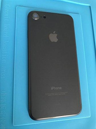 Carcaça Chassi Iphone 7 Preta Original Apple retirado