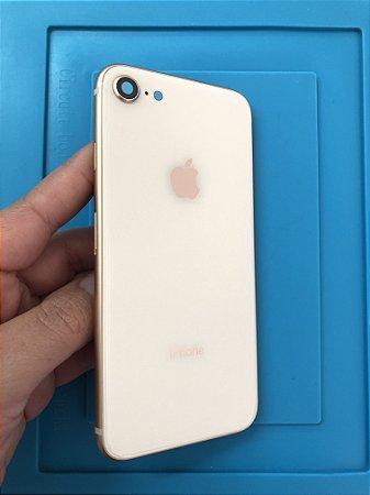 Carcaça Chassi Iphone 8 Rose Original Apple Zerada!!