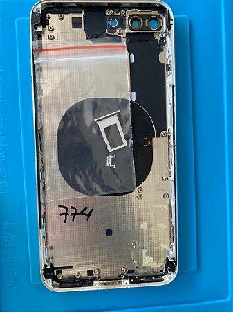 Carcaça Chassi Iphone 8 Plus Branca Original Apple Zerada!!