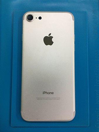 Carcaça Chassi Iphone 7 Prata Original Apple Impecável
