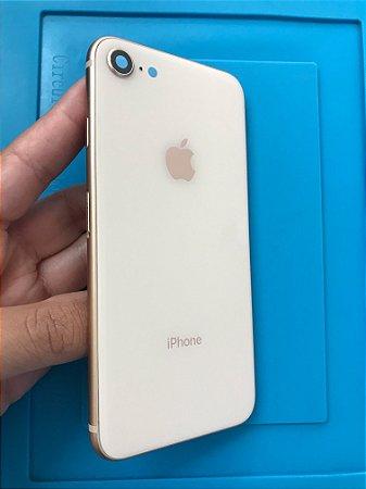 Carcaça Chassi Iphone 8 Rose Original Apple Impecável!!