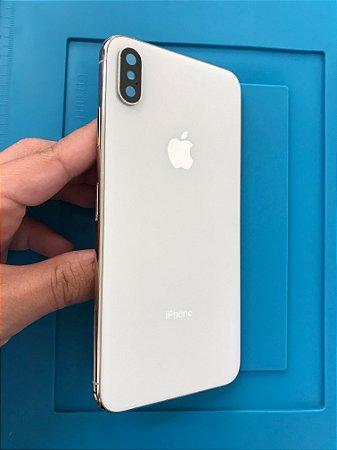 Carcaça Iphone XS Max Branco Chassi Impecável !!!