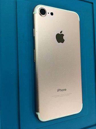 Carcaça Chassi Iphone 7 Rose Original Apple