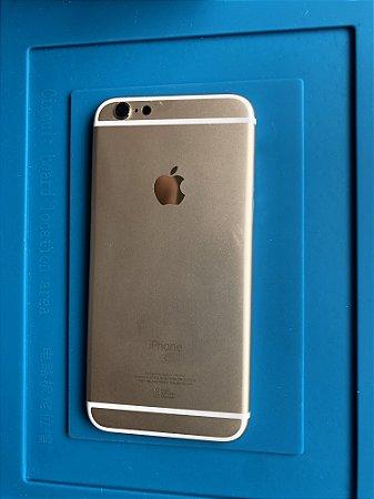 Carcaça Chassi Iphone 6s Dourada Original Apple Impecável