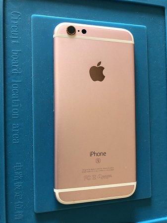Carcaça Chassi Iphone 6s Rose Original Apple Com Detalhe