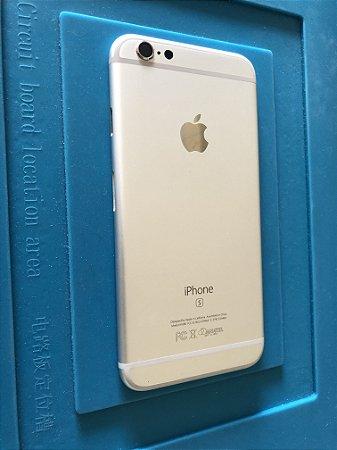 Carcaça Chassi Iphone 6s Prata Original Apple com detalhe
