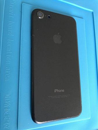 Carcaça Chassi Iphone 7 Preta Original Apple com Detalhe