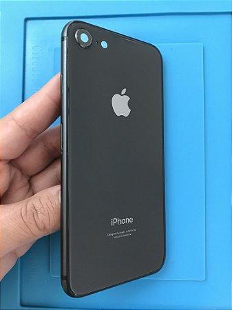 Carcaça Chassi Iphone 8 Preta Original Apple