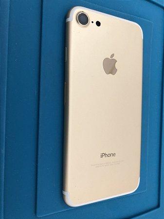 Carcaça Chassi Iphone 7 Dourado Original Apple Pequeno Detalhe