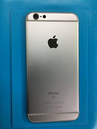 Carcaça Chassi Iphone 6s Cinza Espacial com Detalhe