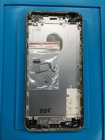 Carcaça Chassi Iphone 6s Plus Cinza Espacial Original Apple